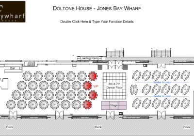 Doltone House floor plan