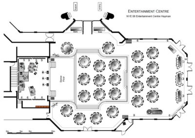 Entertainment Centre Hayman Floor Plan By eventdraw